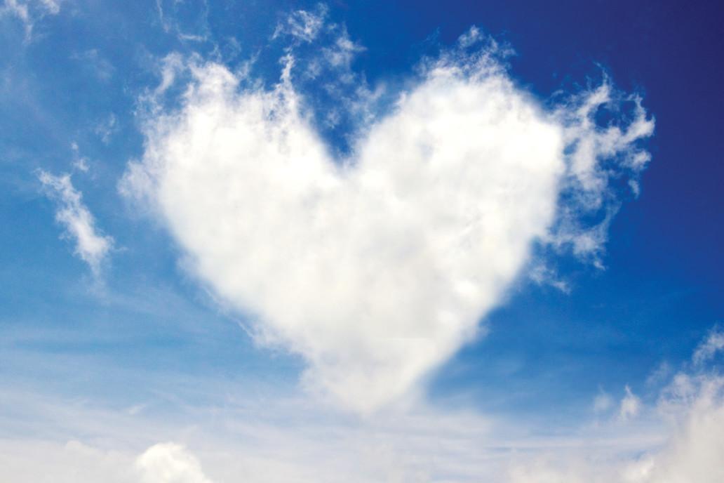 heart shaped cloud endless vision non-profit hospice house Endless Journey Hospice Omaha Nebraska