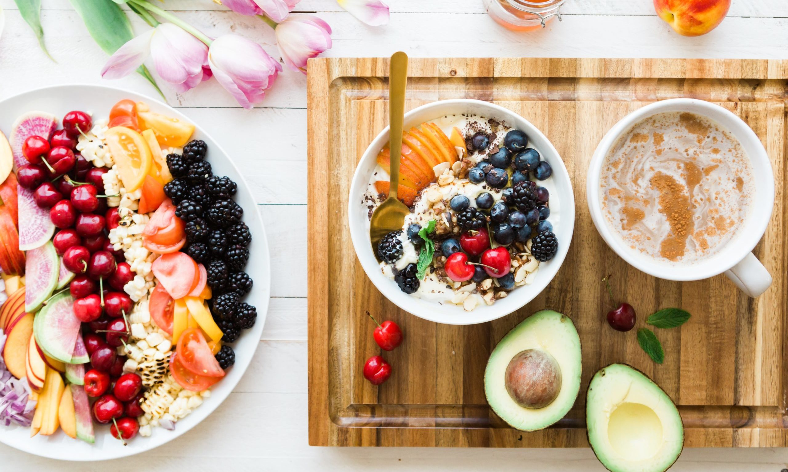 fruit oatmeal and tea our care holistic intervention Endless Journey Hospice Omaha Nebraska